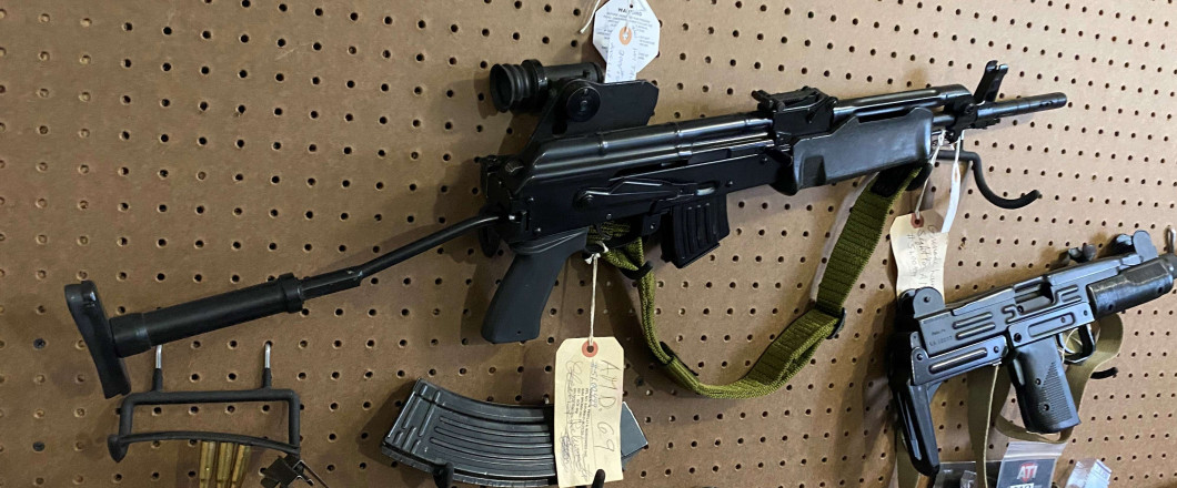*NEW* Collectible Investment Firearm Available - AMD 69 AK-47 (Serial #: 499)